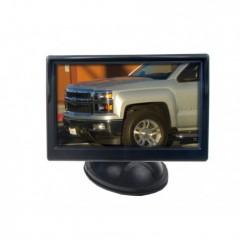 LCD monitor 5' černý s přísavkou s možností instalace na HR držák