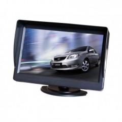 LCD monitor 4,3' černý na palubní desku