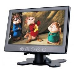 LCD monitor 7' černý na palubní desku