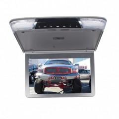 Stropní monitor 11,6'' šedo/stříbrný s SD/USB/IR/FM/HDMI