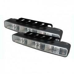 LED světla pro denní svícení, 166x25,5mm, ECE