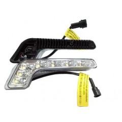 LED světla pro denní svícení, 158x22mm, ECE