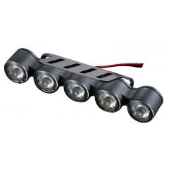 LED světla pro denní svícení, 149,5x25,5mm, ECE
