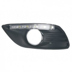 x LED světla pro denní svícení Ford Focus 2008-2011, ECE