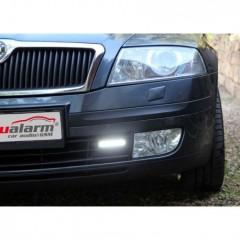 LED světla pro denní svícení Škoda Octavia 2004-08, ECE