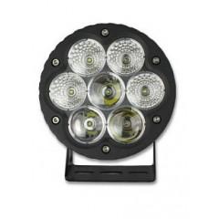 x LED 7x10W prac.světlo, 9-32V, kulaté 166mm