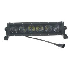 LED 6x10W prac.světlo-rampa, 10-30V, 325x79x100mm, ECE R112