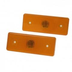 Boční obrysové světlo LED, oranžové 12V