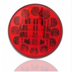 LED mlhová lampa zadní, 12-24V, ECE
