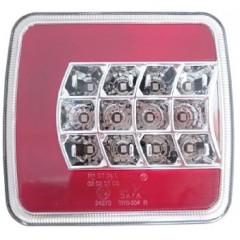 Sdružená lampa zadní LED 12V pravá, ECE