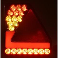 Sdružená lampa zadní LED 12-24V, ECE levá