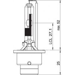 OSRAM 12V D2R 35W xenarc (1ks)