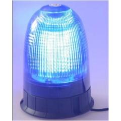 x LED maják, 12-24V, modrý magnet, 80x SMD5050, ECE R10