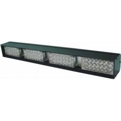 x LED světelná alej, 88x LED 5mm, oranžová 370mm