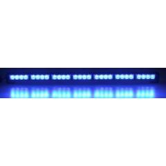 LED světelná alej, 28x LED 3W, modrá 800mm, ECE R10 R65