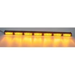 LED alej 12V, 42x LED 1W, oranžová 900mm