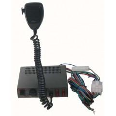 Profesionální výstražný systém s mikrofonem 100W