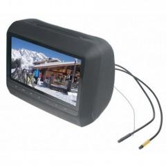 DVD/SD/USB monitor 9' v černé opěrce