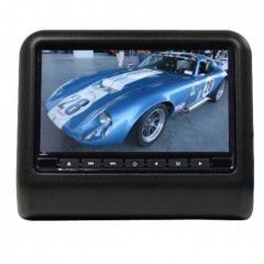 DVD/SD/USB/HDMI monitor 9' s držákem na opěrku černý