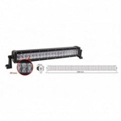 LED rampa 80x3W, RGB, 1060x82x88mm