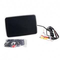 DVD/SD/USB monitor 10palců s držákem na opěrku černý stříbrný rámeček
