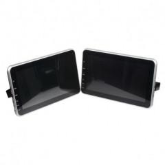 SET 2x monitor 10,1palců DVD/SD/USB/HDMI s držákem na opěrku