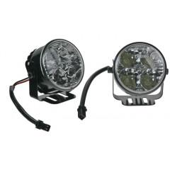 LED světla pro denní svícení, kulatá 70mm, ECE