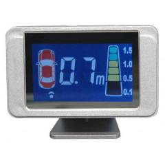 Parkovací systém s LCD displejem, 8 senzorů