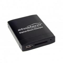 YATOUR - ovládání USB zařízení OEM rádiem Fiat Blaupunkt/AUX vstup