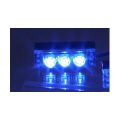 PREDATOR LED do mřížky, 12V, modrý