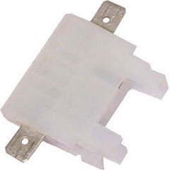 pouzdro na plochou MIDI pojistku bílé, 10 ks