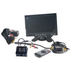 Parkovací kamera s 7palců monitorem