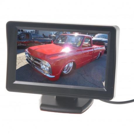 LCD monitor  4,3palců černý na palubní desku