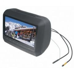 x  DVD/SD/USB monitor 9palců v černé opěrce