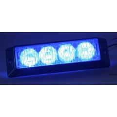 PROFI výstražné LED světlo vnější, 12-24V, modré