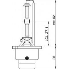 OSRAM 12V D2S 35W xenarc (1ks)