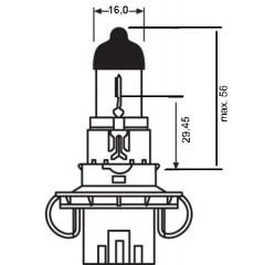 OSRAM 12V H13 60/55W standard (1ks)