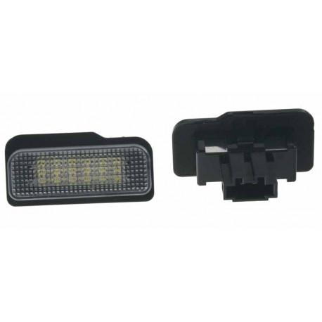 LED osvětlení SPZ do vozu Mercedes W203 (5D), R171, W211, W219