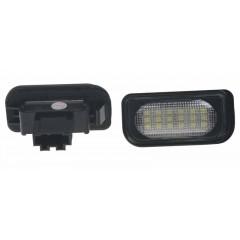 LED osvětlení SPZ do vozu Mercedes W203 4D Sedan