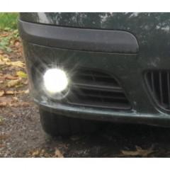 LED světla pro denní svícení Škoda Fabia I 04-07, ECE