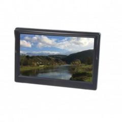 LCD monitor 5palců černý s přísavkou s možností instalace na HR držák