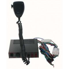 x Profesionální výstražný systém s mikrofonem 80W