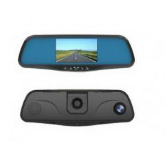 LCD monitor 4,3palců s DVR kamerou v zrcátku pro OEM montáž + zadní kamera