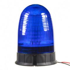 LED maják, 12-24V, modrý, 80x SMD5050, ECE R10
