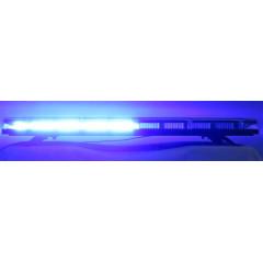 LED rampa 921mm, modrá, 12-24V, homologace ECE R65