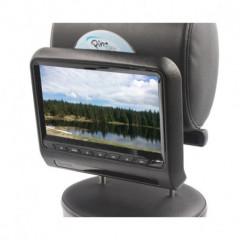 DVD/SD/USB/HDMI monitor 9palců s držákem na opěrku černý