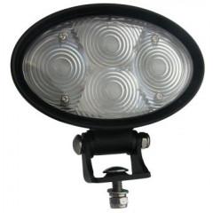 PROFI LED výstražné bodové světlo 10-48V 4x3W modrý 143x122mm, R10