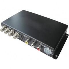 x DVB-T digitální tuner + 4 vnitřní antény