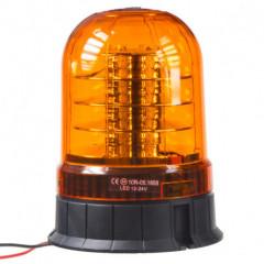 LED maják, 12-24V, 24x3W oranžový, ECE R65