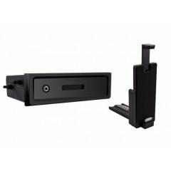 univerzální plastová přihrádka do otvoru DIN s držákem na iPhone4/4S